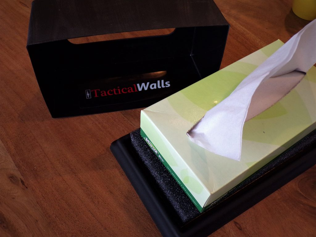 Tissues in the Tactical Walls Issue Box