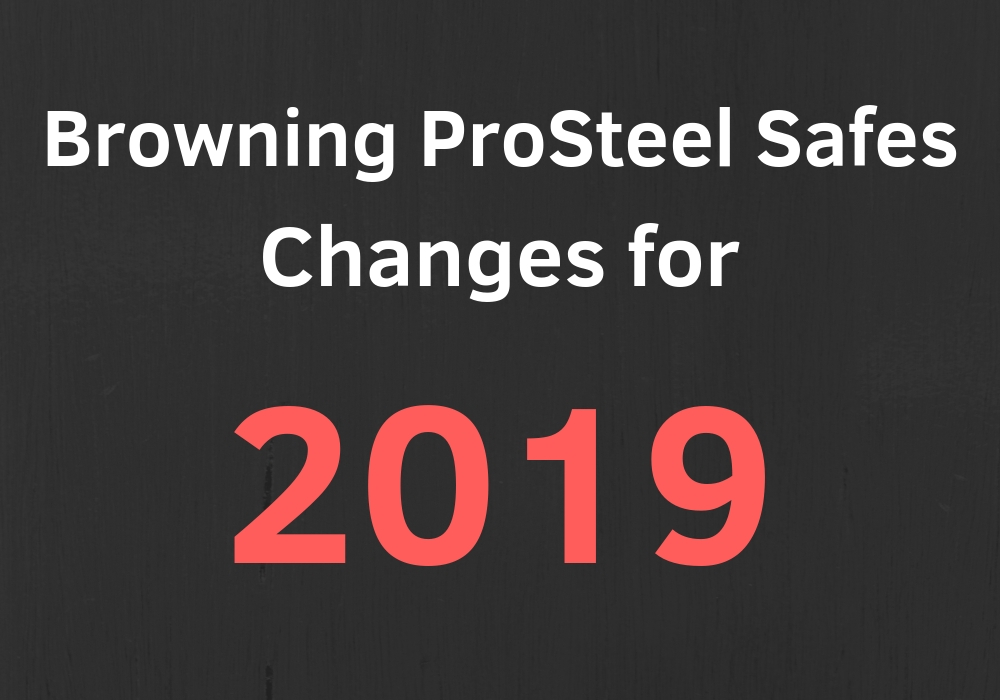 Browning changes many things about 2019 safes