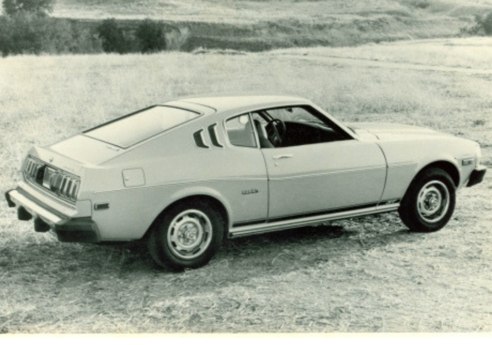 Toyota Celica First Generation with the muscle car look