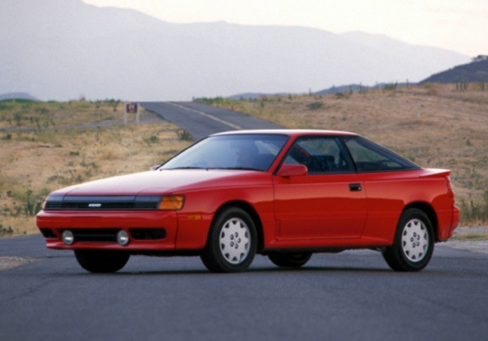 4th Generation Celica in red