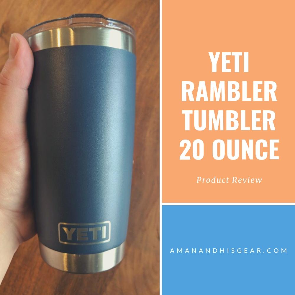 The Yeti Rambler Tumbler is my favorite to-go mug: Product