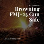 The Browning FMJ Gun Safe is a Sporter Series