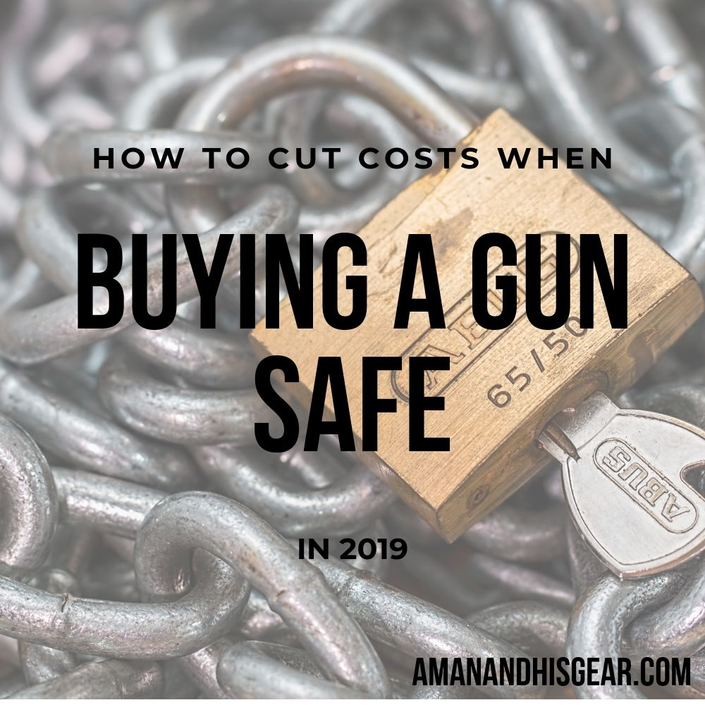 Saving money when buying a gun safe