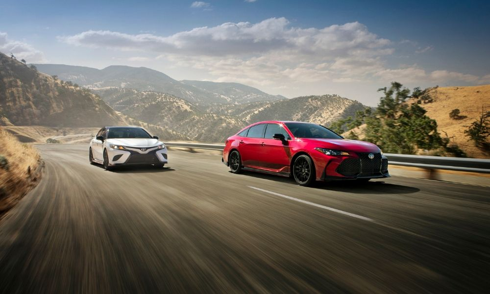 Camry and Avalon TRD