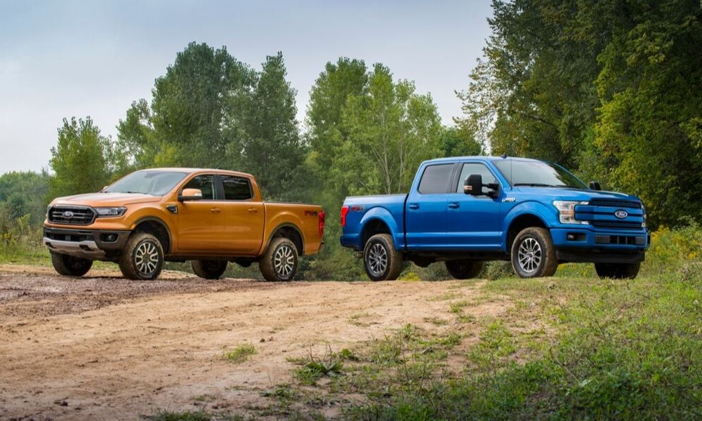 Ford Ranger and F-150 Leveling Kit