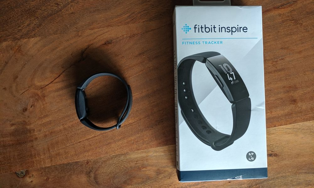 Fitbit Inspire with packaging