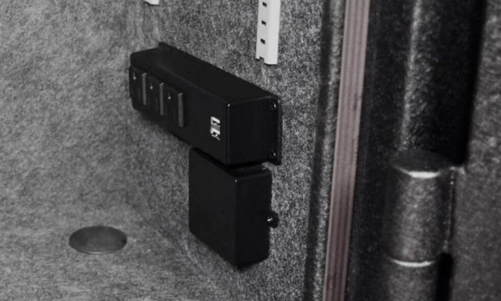 Stealth Economy Gun Safe electrical panel